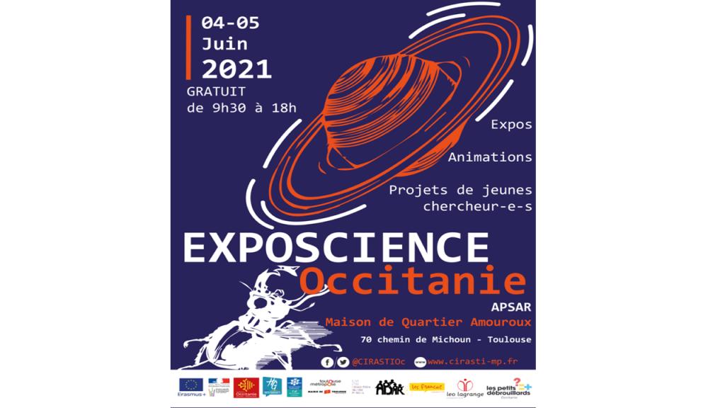 """Jugend-Wissenschaftsausstellung """"Exposciences en Occitanie 2021"""""""